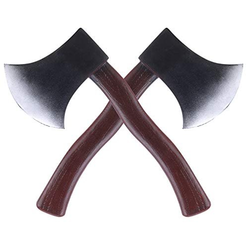 Axe Toy Foam Hatchet Costume Prop Accessory Lumberjack Party Trick Props Weapon Toy Brown