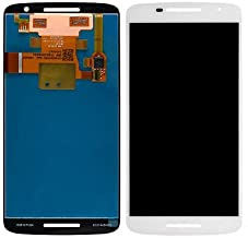 LCD Display Digitizer Touch Screen Assembly for Motorola Droid Maxx 2 XT1565 XT1563 (White)