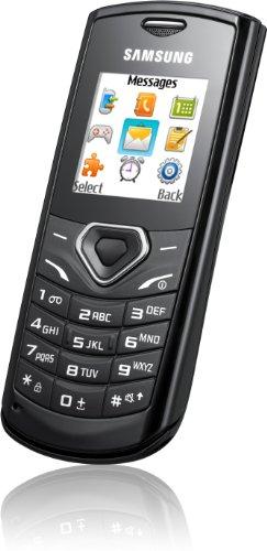 Samsung E1170i Handy (Ohne Branding, 3,6 cm (1,4 Zoll) Display) schwarz