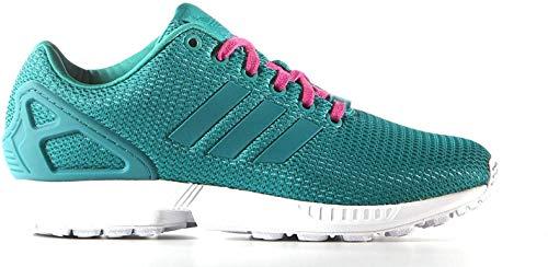 adidas ZX Flux Sneaker Schuhe Damen Turnschuhe Freizeit grün S78972 (37 1/3 EU)