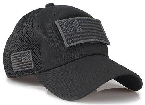 Top velcro patch hat black for 2021