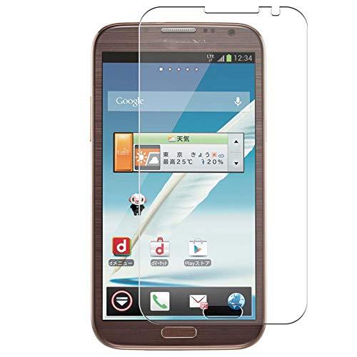 Vaxson 4 Unidades Protector de Pantalla Anti Luz Azul, compatible con Samsung docomo GALAXY Note 2 II SC-02E [No Vidrio Templado] TPU Película Protectora