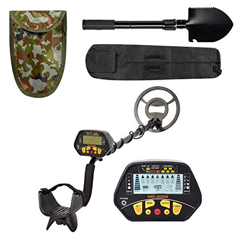 Best Prices! Esright Accurate Metal Detector with LCD Display, Gold Detector with 10in Waterproof Se...