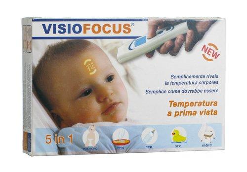 VisioFocus - Termómetro remoto Tamaño y proyección