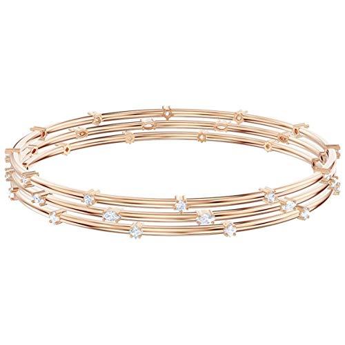 Swarovski Damen-Armreifen Edelstahl Kristall 5486815