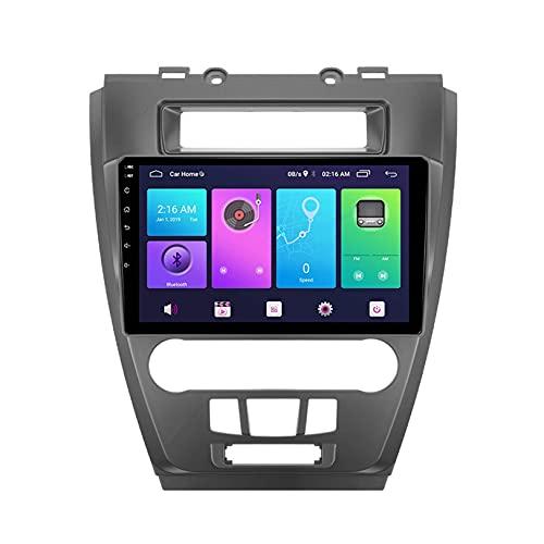 para F Ford Fusion Mondeo US 2009-2012 GPS Navegación Auto Multimedia Revertir Imagen Android 10.0 Video Receptor DVD Jugador Apoyo Vehículo Electrónica Radio FM WiFi,S3