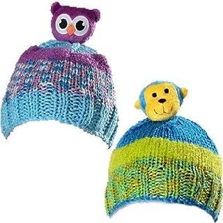 2 Kits Bundle: DMC-Top This! Yarn - Owl and Monkey