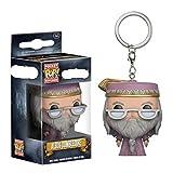 Figura Pop Pocket Mini-Llavero con Figura Dumbledore Figura De Acción Modelo Coleccionable Muñecas J...