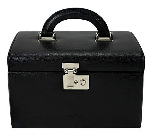 WINDROSE Beluga Schmuckkoffer 24,5 cm Leder