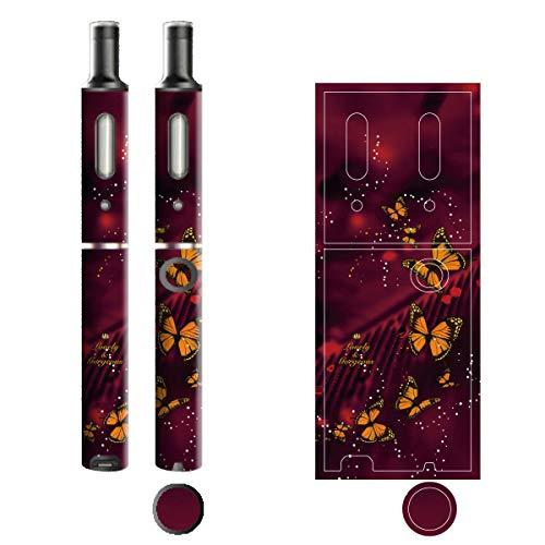 電子たばこ タバコ 煙草 喫煙具 専用スキンシール 対応機種 プルームテックプラスシール Ploom Tech Plus シール Lovely & Gorgeous 17バタフライ 22-pt08-ca0633