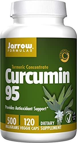 Jarrow Formulas Curcumin 95 500 mg - 120 Veggie Caps - Turmeric Extract to Provide Antioxidant Support - Up to 120 Servings