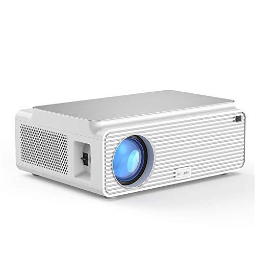 QFWM Proyector de vídeoResolución de múltiples puertos Altavoz incorporado Proyector de cine en casa inteligente ProyectorHome