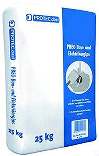 PROTEC.CLASS Bau- & Elektrikergips 25kg Sack PBEG-0