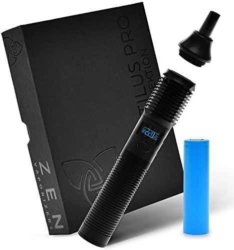 ZEN Vaporizer ® Stilus Pro Konduktion Vape Pen, Kräuter Verdampfer Vaporizers mit Glasmundstück, sehr guter Durchzug, Modular erweiterbar, Premium Support - nikotinfrei