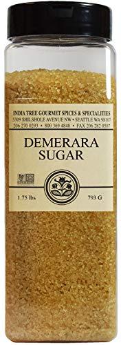 India Tree Demerara Sugar, Pantry Pak, 1.75 lb, Raw, Sugar, Oz Sugar, Raw 1.75 Pound 28.0 Ounce
