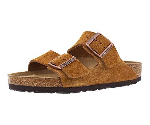 Birkenstock New Unisex Arizona SF Slide Sandal Mink Suede 39 R