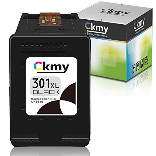 CKMY Remanufactured for HP 301 XL 301XL Druckerpatronen Schwarz Tintenpatronen für HP Officejet 2622 2620 4630 Deskjet 3050 3055 2540 2542 2050 2510 1000 1050 1050A 1510 1512 1514 Envy 5530 4500