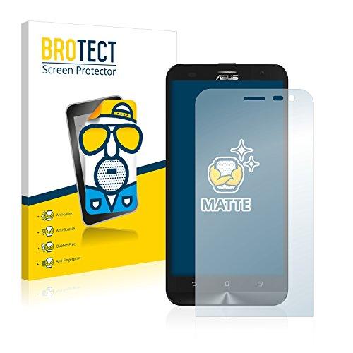 BROTECT 2X Entspiegelungs-Schutzfolie kompatibel mit Asus ZenFone 2 Laser ZE500KG Bildschirmschutz-Folie Matt, Anti-Reflex, Anti-Fingerprint