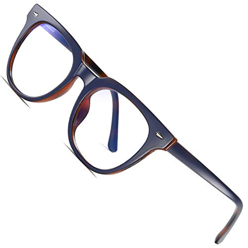 Joopin Blue Light Blocking Glasses, Blue Blocker Glasses for Computer Gaming (Blue/Tortoise)