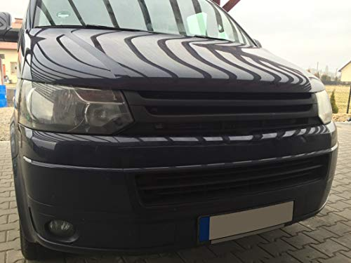 Bus T5 Facelift ab 2009-2015 Grill Kühlergrill Frontgrill Sportgrill ohne Emblem