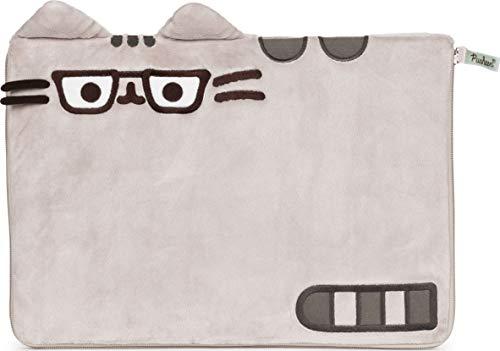 GUND Pusheen Plush Laptop Computer Soft Case, Gray and Brown