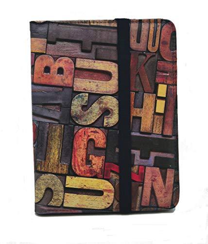 Funda para Libro electrónico eReader eBook de 6 Pulgadas - Woxter, Tagus, BQ, Energy, SPC, Sony, Inves, Papyre, Wolder, Nolim - 6' Universal - Estampados (6', 86)