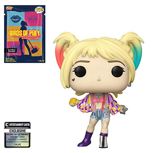 Entertainment Earth Birds of Prey Harley Quinn Caution Tape Pop! Vinyl Figure with Collectible Card Exclusive