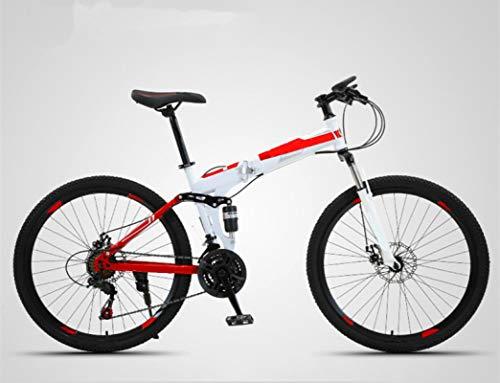 ZJBKX Bicicleta De Montaña De 26 Pulgadas, Bicicleta De Estudiante De Carrera De Campo a TravéS De Velocidad para Adultos Masculinos Y Femeninos 30speed
