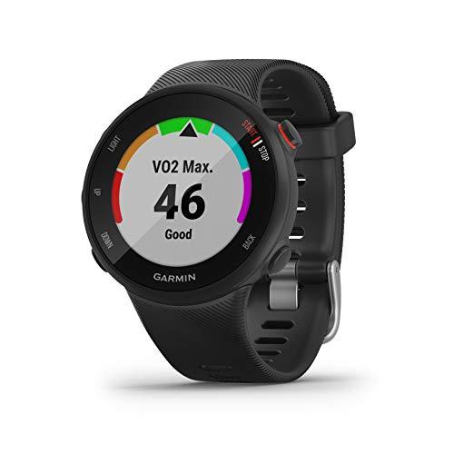 Garmin Forerunner 45S/P Reloj Multisport, Unisex Adulto, Negro, S