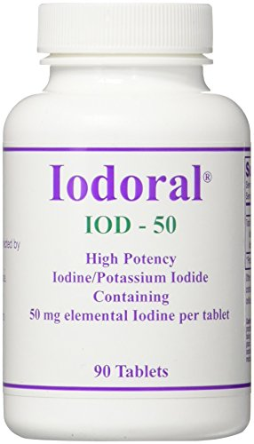 OPTIMOX Corporation 50 Mg Iodoral IOD-50, 90 Count
