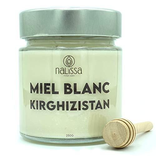 NALISSA® MIEL BLANC DU KIRGHIZISTAN - SAINFOIN - 250G - PREM
