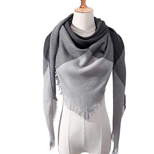 VIGCK gebreide sjaal, lente, winter, dames, warm, sjaal, kasjmier-sjaal, luxe merk halsdoek, Pashmina, Lady Wrap