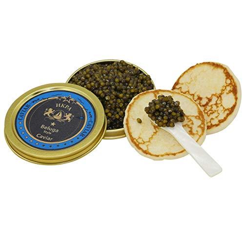 Beluga Caviar Premier (Kaviar v. Amur-Stör) (50g) - Kostenfreier Versand