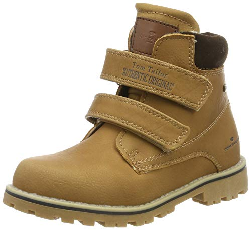 TOM TAILOR Unisex-Kinder 7970501 Klassische Stiefel, Beige Camel 00070, 28 EU