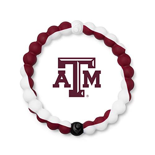 Lokai Texas A&M University Game Day Silicone Collegiate Bracelet, Small