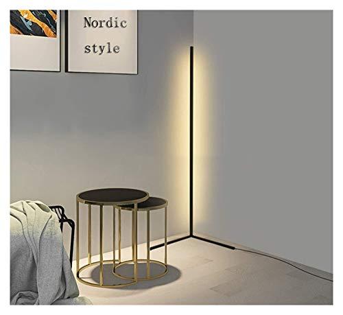 ASY Lámpara De Pie De Esquina Led Blanco Cálido Decoración Nórdica Lámparas De Pie De Pie Luz para Sala De Estar Luz Nocturna Decoración De Dormitorio Moderna