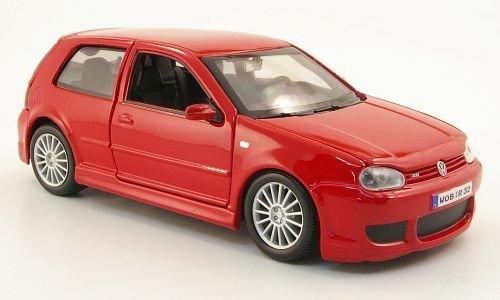 VW Golf IV R32, rot, 2006, Modellauto, Fertigmodell, Maisto 1:24