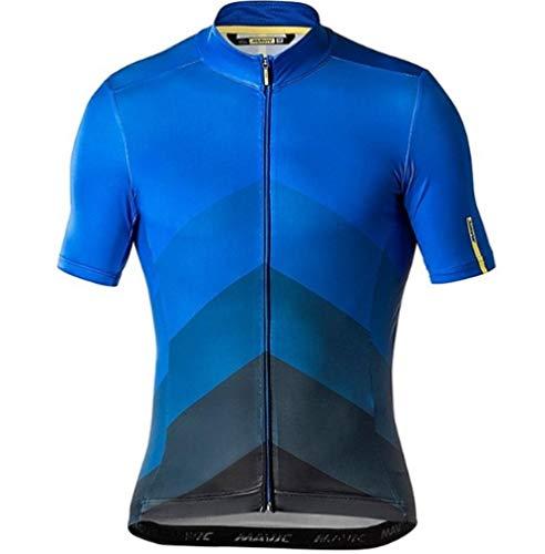 HappyL Team Summer Jerseys Bike Shirt Men S Cycling Jersey Ciclismo Bicicleta Sportswear Maillot Ciclismo (Color : 2.5 UK, Size : Medium)