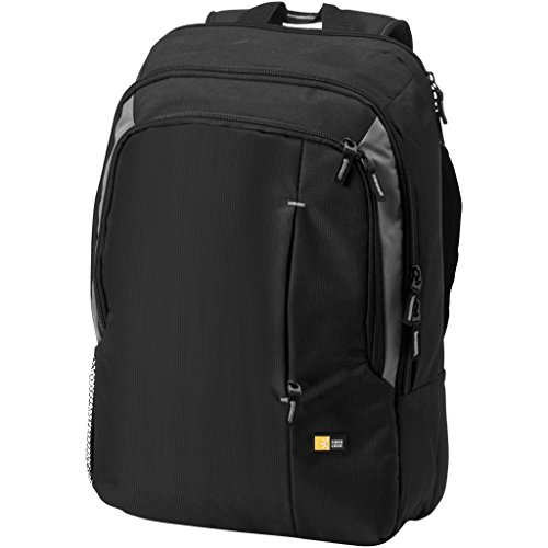 Case Logic 17in Laptop Backpack (31 x 13 x 44 cm) (Solid Black)