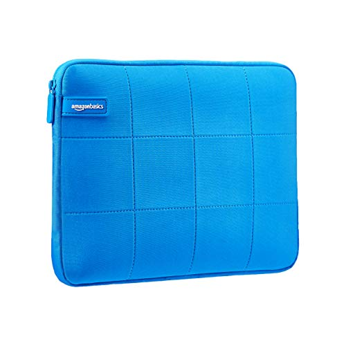 AmazonBasics - Funda para ordenador portátil urbana de 39,62 cm, azul