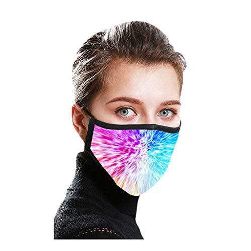 Zolimx Männer und Frauen 2 Stück Aktivkohle 3D-Druck Anti-Verschmutzung Anti-Spritzer Erwachsenen Gesichtsschutz Wiederverwendbare Anti-Fog Anti Staub Atemschutz