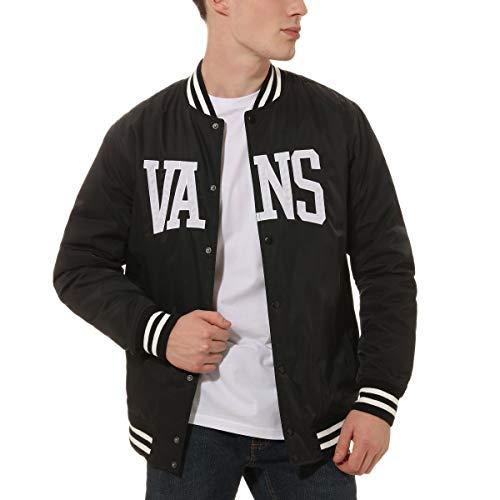 Vans SVD University Jacket -Fall 2019-(VN0A457FBLK1) - Black - M