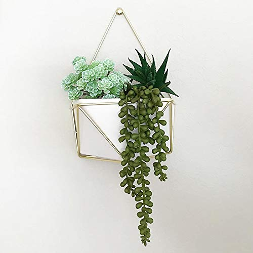 3pcs Artificial Fake String of Pearls Plant Faux Fake Hanging Succulents Plants