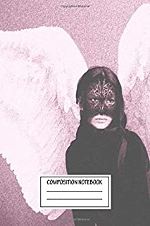 Composition Notebook: Abstract Dark Angel Graphics Wide Ruled Note Book, Diary, Planner, Journal for Writing