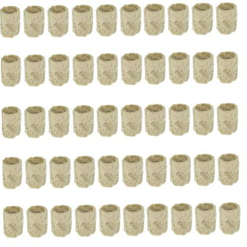 Sanfiyya Crecer complemento de Medios de Arranque Cubos de Lana de Roca Planta hidropónica Propagación trasplante Base de semillero del Suelo Bloque Herramienta para el jardín jardinería Profesional