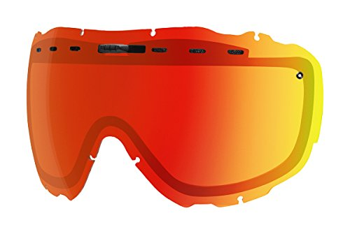 Smith Prophecy Turbo Fan Snow Goggle Replacement Lens (Chromapop Everyday Red Mirror)