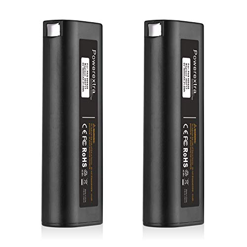 Powerextra 2-Pack Paslode IM350 Replacement Battery 6V 3000mAh Battery Compatible with Paslode Nailers 404717 IM250 IM200 IM65 IM50