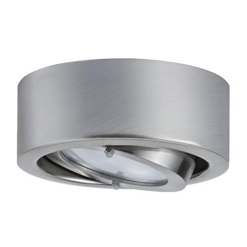 Preisvergleich Produktbild Paulmann Downlight Micro Line Dress Eisen (gebürstet) / Inklusive Leuchtmittel: G4 20W 254lm warmweiß / 935.07
