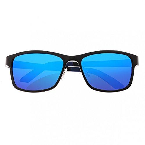 Breed Herren Sonnenbrille Mehrfarbig schwarz/blau