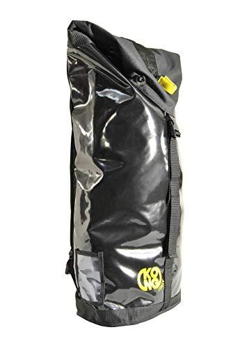 KONG Rope Bag 200 Sac à Dos pour Transport de Cordes et équipement, Noir, 43 litres